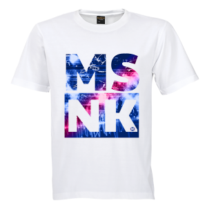 MSNK t-shirt wit