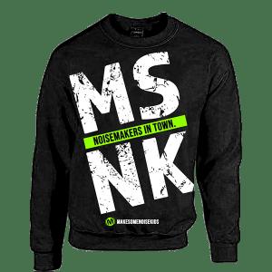 MSNK Sweater (zwart/groen)