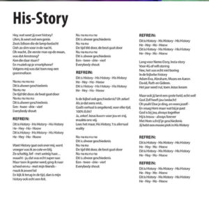 Songtekst His-Story (pdf)